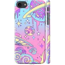 Чехол на iPhone 7 'Розовый космос