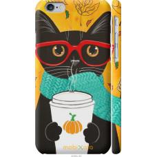 Чехол на iPhone 6 Осенний кот