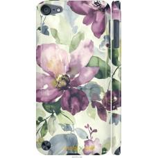 Чехол на iPod Touch 5 Акварель цветы