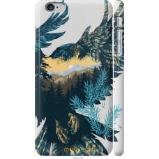 Чехол на iPhone 6 Plus Арт-орел на фоне природы