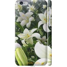 Чехол на iPhone 6s Лилии белые