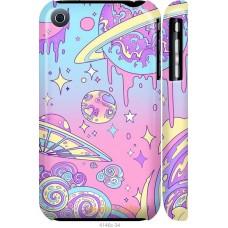Чехол на iPhone 3Gs 'Розовый космос