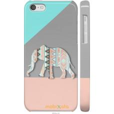 Чехол на iPhone 5c Узорчатый слон