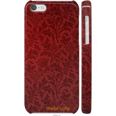 Чехол на iPhone 5c Чехол цвета бордо