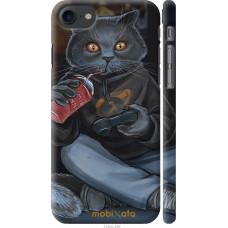Чехол на iPhone 8 gamer cat