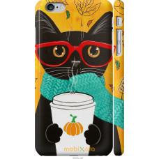 Чехол на iPhone 6 Plus Осенний кот