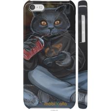 Чехол на iPhone 5c gamer cat