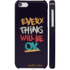 Чехол на iPhone 5c Everything will be Ok