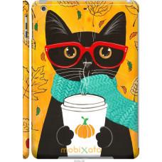 Чехол на iPad 5 (Air) Осенний кот