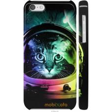 Чехол на iPhone 5c Кот космонавт