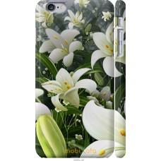 Чехол на iPhone 6s Plus Лилии белые