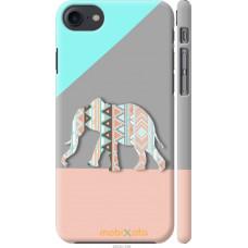 Чехол на iPhone 7 Узорчатый слон