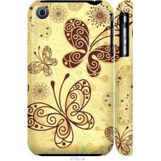 Чехол на iPhone 3Gs Рисованные бабочки