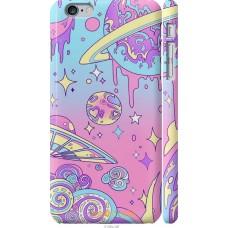 Чехол на iPhone 6 Plus 'Розовый космос