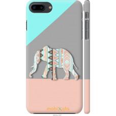 Чехол на iPhone 7 Plus Узорчатый слон