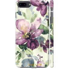 Чехол на iPhone 8 Plus Акварель цветы