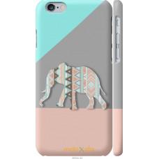 Чехол на iPhone 6 Узорчатый слон