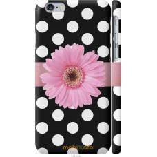 Чехол на iPhone 6s Цветочек горошек v2