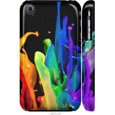 Чехол на iPhone 3Gs брызги краски