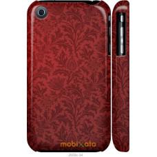 Чехол на iPhone 3Gs Чехол цвета бордо