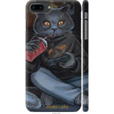 Чехол на iPhone 7 Plus gamer cat