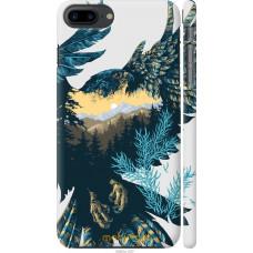 Чехол на iPhone 8 Plus Арт-орел на фоне природы
