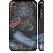 Чехол на iPhone 3Gs gamer cat