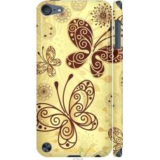 Чехол на iPod Touch 5 Рисованные бабочки