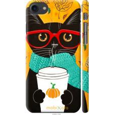 Чехол на iPhone 8 Осенний кот