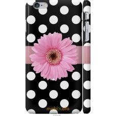 Чехол на iPhone 6 Plus Цветочек горошек v2