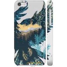 Чехол на iPhone 5c Арт-орел на фоне природы