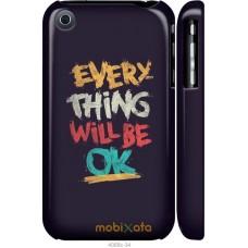 Чехол на iPhone 3Gs Everything will be Ok