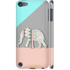 Чехол на iPod Touch 5 Узорчатый слон
