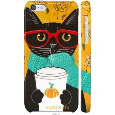 Чехол на iPhone 5c Осенний кот