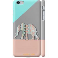 Чехол на iPhone 6s Plus Узорчатый слон