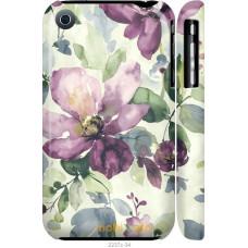 Чехол на iPhone 3Gs Акварель цветы