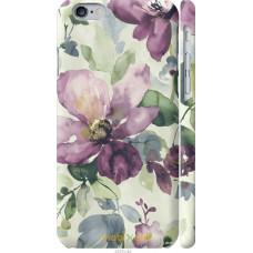Чехол на iPhone 6 Акварель цветы