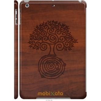 Чехол на iPad 5 (Air) Узор дерева