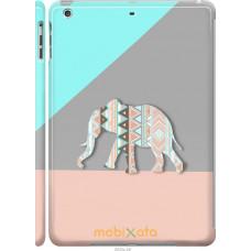 Чехол на iPad 5 (Air) Узорчатый слон