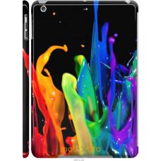 Чехол на iPad 5 (Air) брызги краски