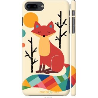 Чехол на iPhone 8 Plus Rainbow fox