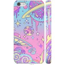 Чехол на iPhone 5c 'Розовый космос