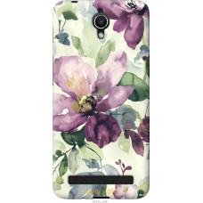 Чехол на Asus ZenFone Go ZC451TG Акварель цветы
