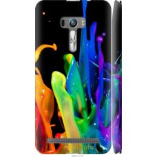 Чехол на Asus ZenFone Selfie ZD551KL брызги краски