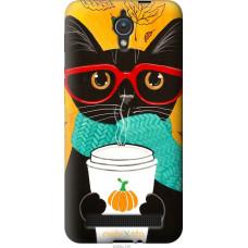 Чехол на Asus ZenFone C ZC451CG Осенний кот
