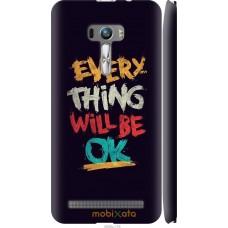 Чехол на Asus ZenFone Selfie ZD551KL Everything will be Ok