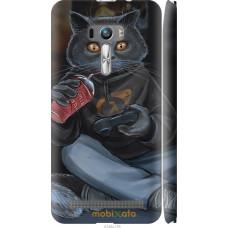Чехол на Asus ZenFone Selfie ZD551KL gamer cat