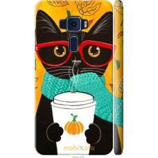 Чехол на Asus Zenfone 3 ZE552KL Осенний кот