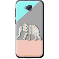 Чехол на Asus ZENFONE 4 SELFIE | ZD553KL Узорчатый слон