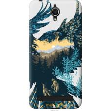 Чехол на Asus ZenFone Go ZC451TG Арт-орел на фоне природы